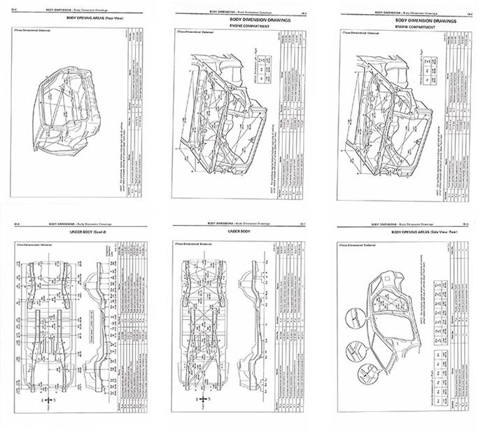 Геометрические размеры кузова автомобиля скачать бесплатно