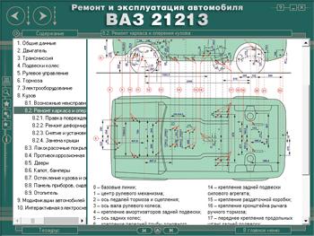 Размеры кузова ваз 21213